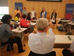 Constitutional Scholars Institute Teacher Group Discussion