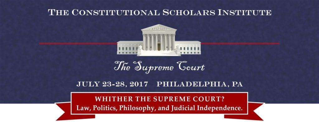 Constitutional Scholars 2017 logo art 2